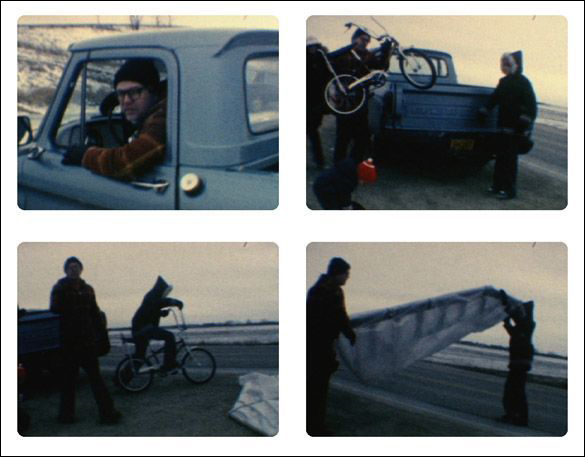 stills from Bicycle © Simon Hughes